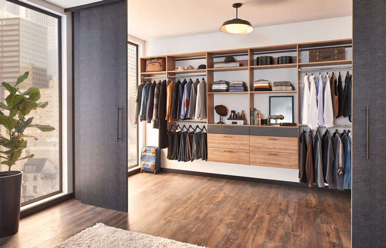 8 Ways to Organize a Guy's Closet